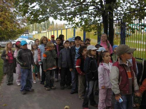 Návšteva Dopravného ihriska, 9.10.2007