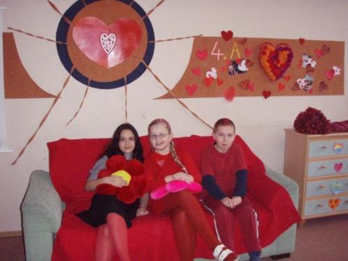 Valentínska škola The Red Day In Love, 14.2.2008
