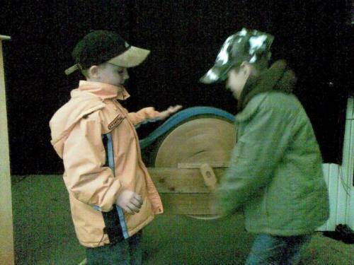 Bábkové divadlo, máj 2008