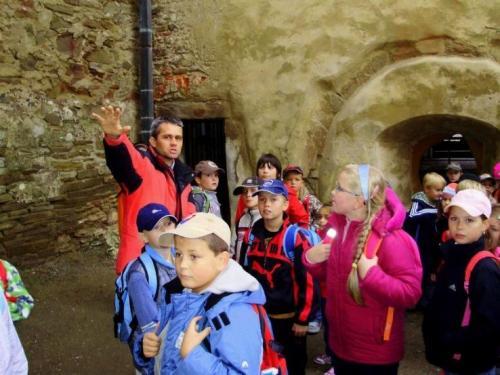 Anglický týždeň - Výlet na Ľubovniansky hrad, 26.09.2008