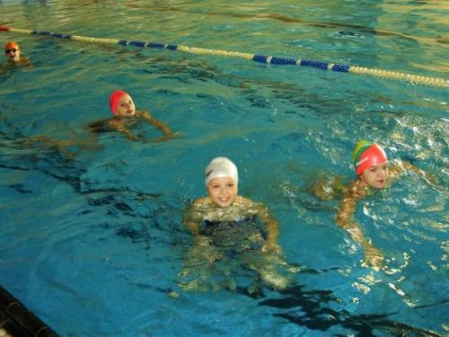 Plavecký výcvik pre 1. stupeň, 6. - 17.10.2008