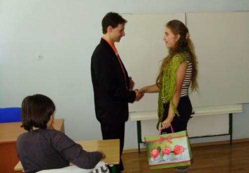 Beseda s Peťom Horosom, apríl 2009