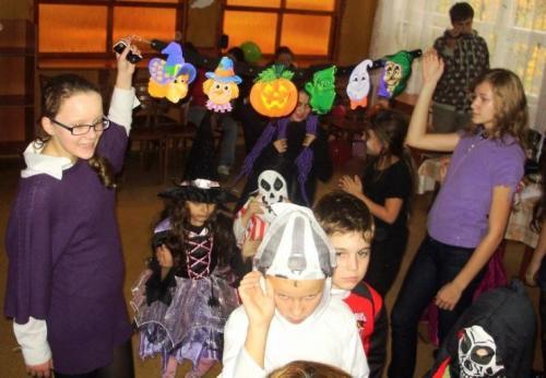 Halloween - október 2009