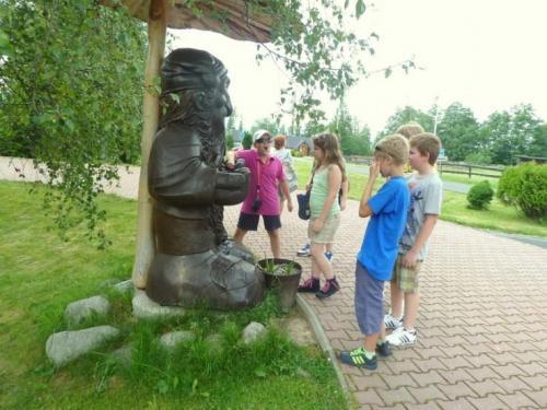 Triedny výlet 4.A - Gerlachov, 21. - 22.6.2012