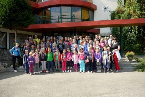 Celoškolský výlet do Jasova, 7.9.2012