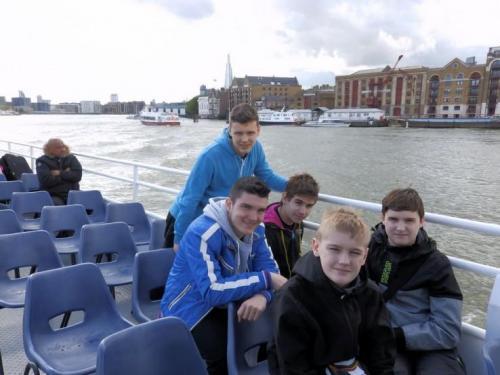 Exkurzia v Londýne, 18. - 23.5.2015