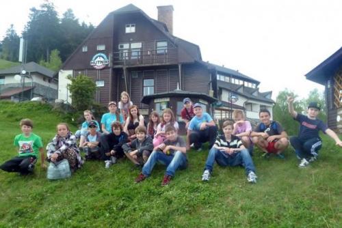 Škola v prírode - Hotel Plejsy, Krompachy, 6.- 10.5.2013