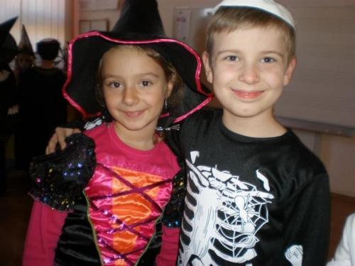 Halloween párty v Školskom klube