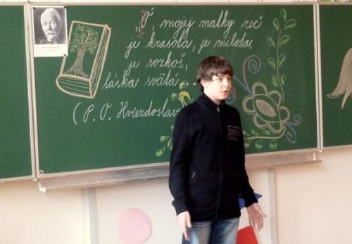 Hviezdoslavov Kubín - školské kolo