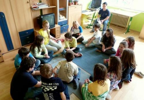 PEER skupina na škole - aktivity v triedach